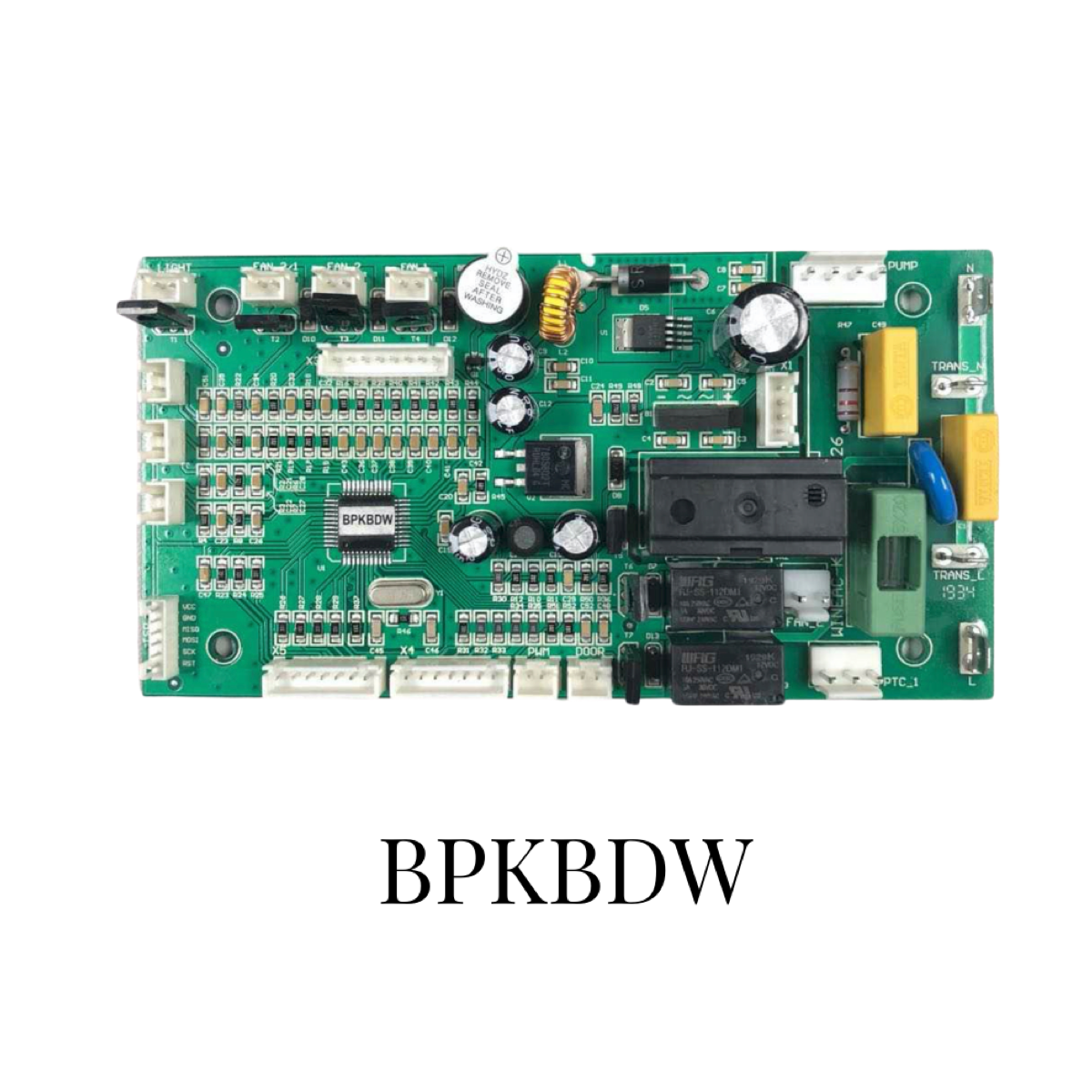 PCB Control Board For Dual Zone Wine Cooler With Inverter Compressor