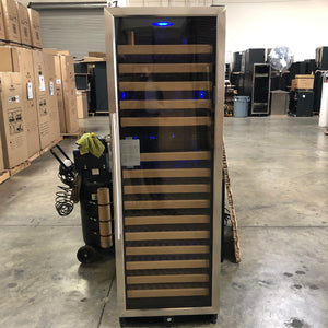 REFURBISHED UNIT ON SALE - 170 Bottle Dual Zone Wine Cooler