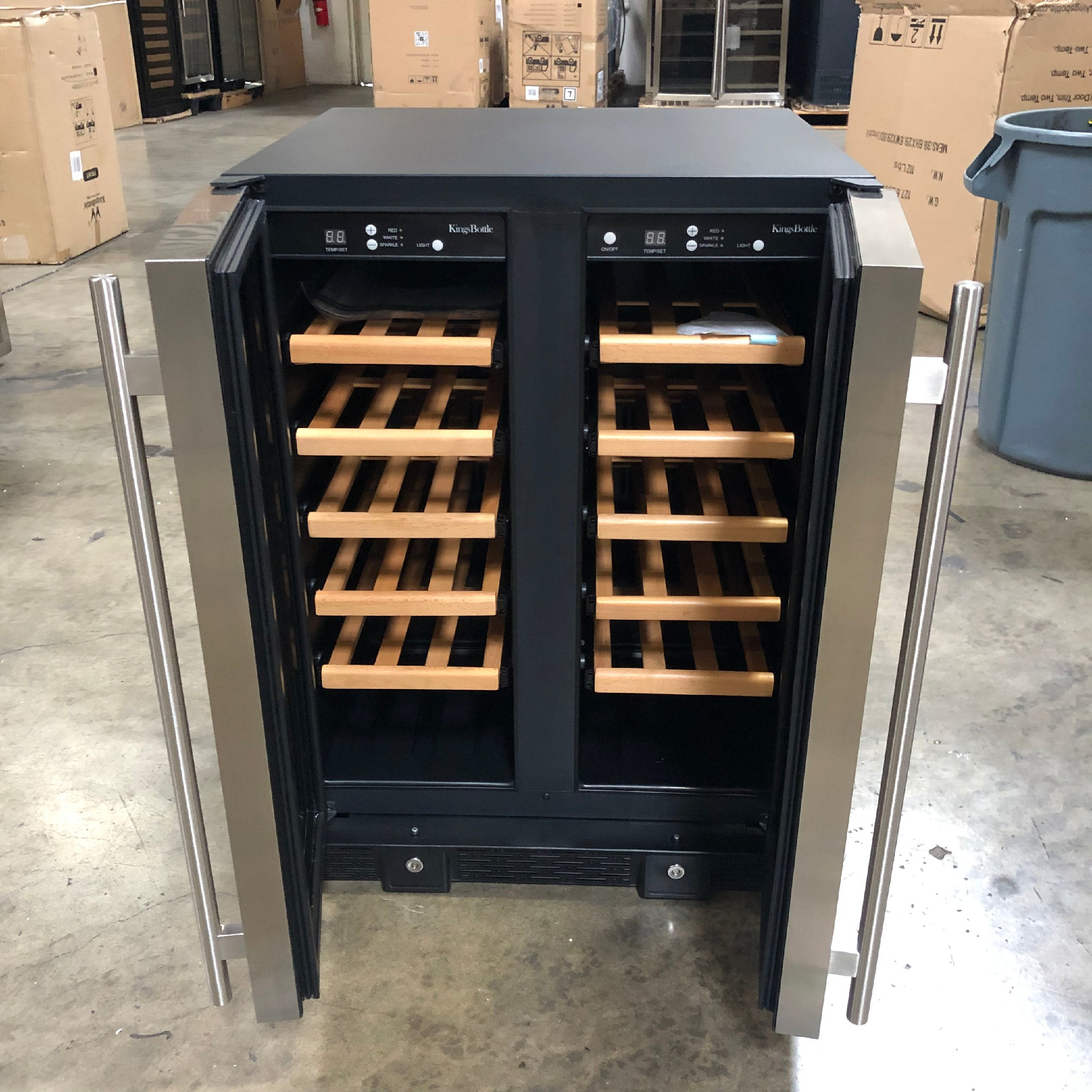 36 Bottle Compressor Dual Zone Wine Cooler