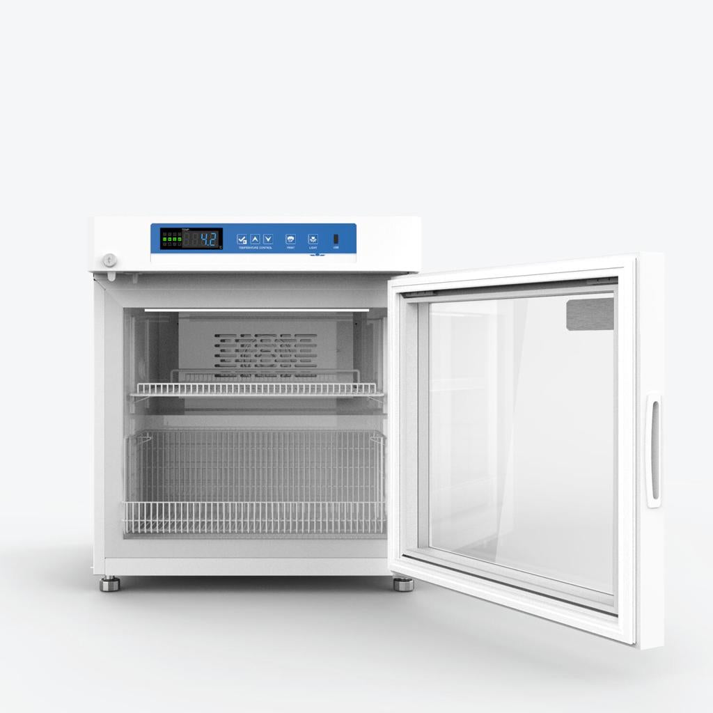 55L 2°C to 8°C Compact Medical Grade Pharmacy Refrigerator