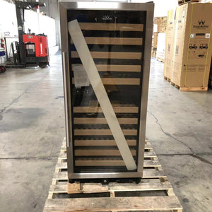 REFURBISHED 100 bottle dual zone upright used wine cooler | On Sale