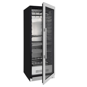 glass door upright steak dry ager refrigerator KBU180SA