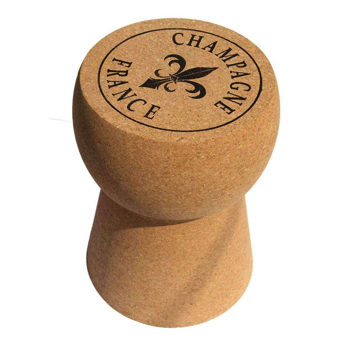 Champagne Cork Stool Cork Table