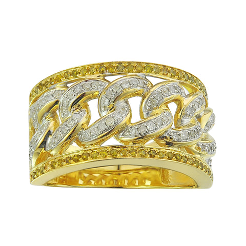 10KY 0.84CT Men's Diamond Ring - Top Gold & Diamond Jewelry