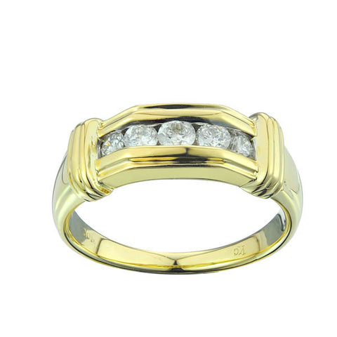 10KY 0.60CT Men's Diamond Ring - Top Gold & Diamond Jewelry