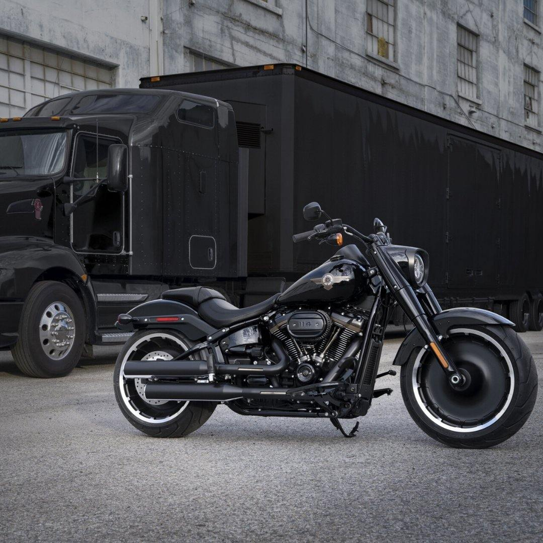 30th Anniversary Fat Boy - Rolling Thunder Harley-Davidson
