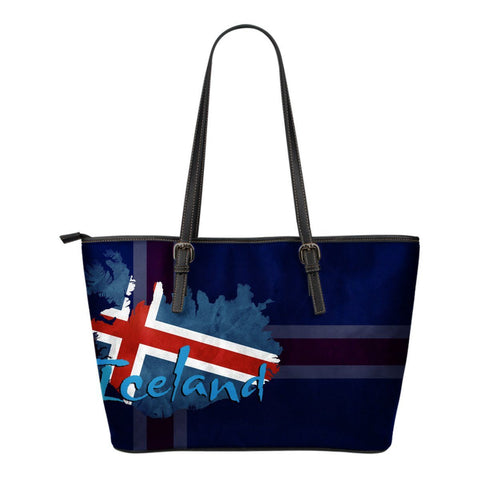 Iceland Flag Small Tote