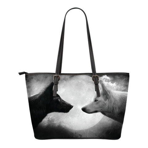 Wolf  Small Tote Bag