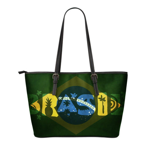 Brasil Flag Small Tote Bag