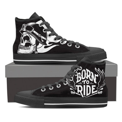 Born To Ride Sneakers - Women