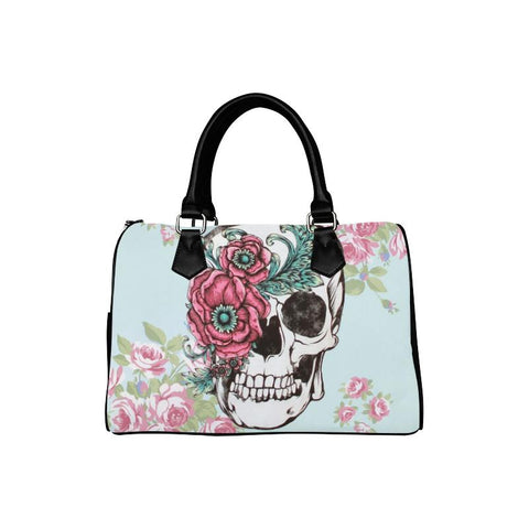Sugar Skull Boston Handbag