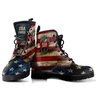 USA Proud Eco Leather Boots