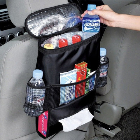 Multi Pocket Car Seat Organizer
