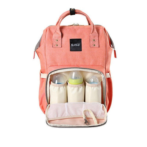 Fashion Maternity Diaper Travel Backpack FREE Changing Pad and Hooks 50%Off