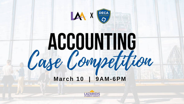 LAA x DECA Accounting Case Competition 2019