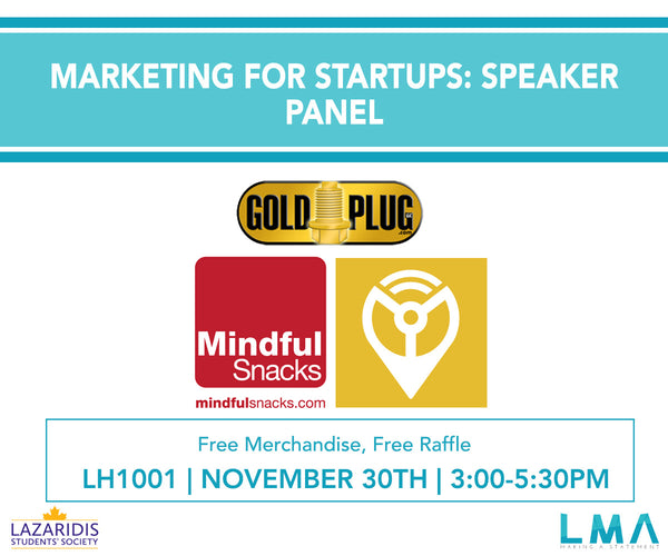 Marketing for Startups: Speaker Panel