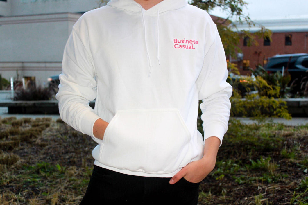 Limited Edition Pink Business Casual Hoodie