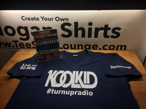 The Official Dj Kool Kid Turnup Radio TShirt