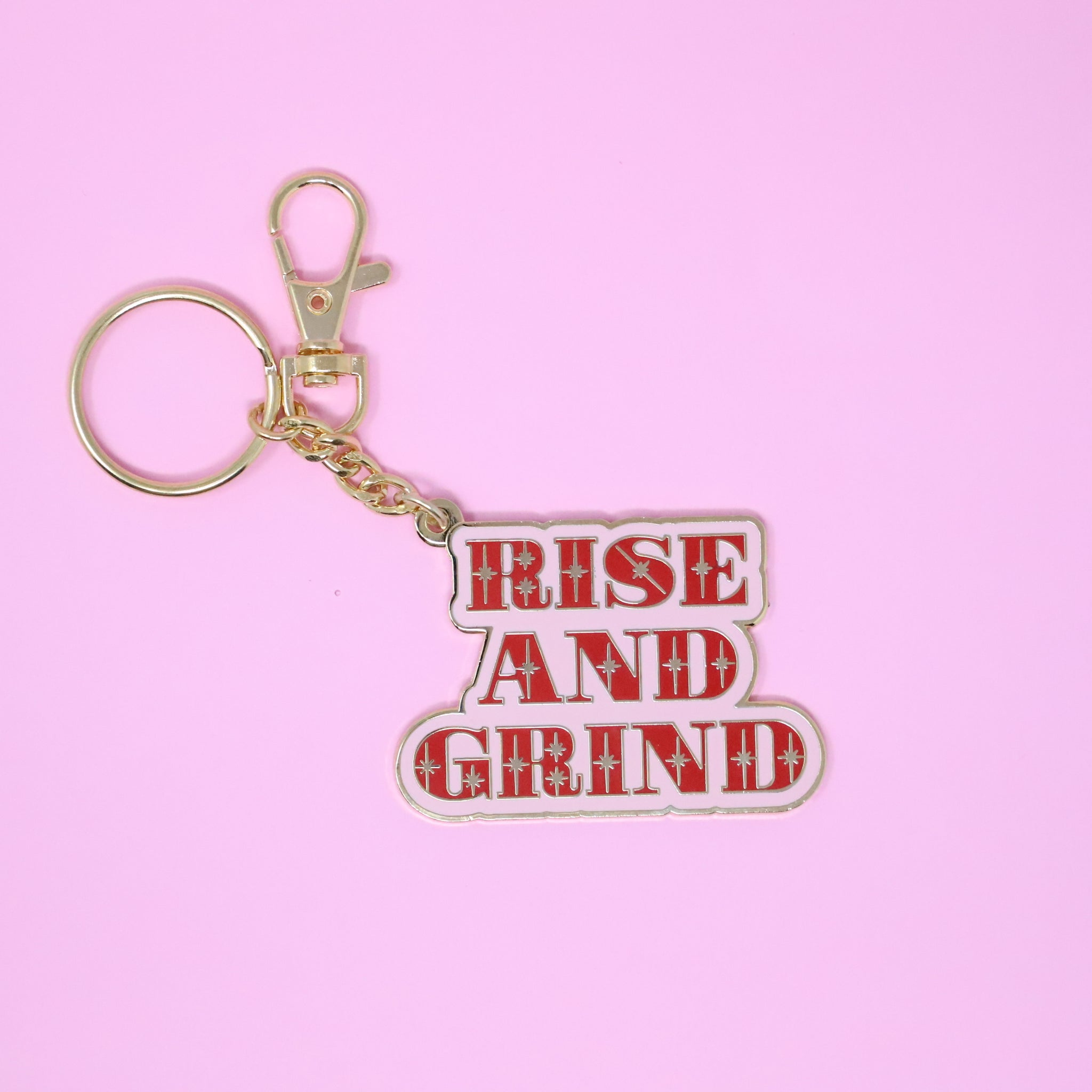 Rise And Grind Keychain