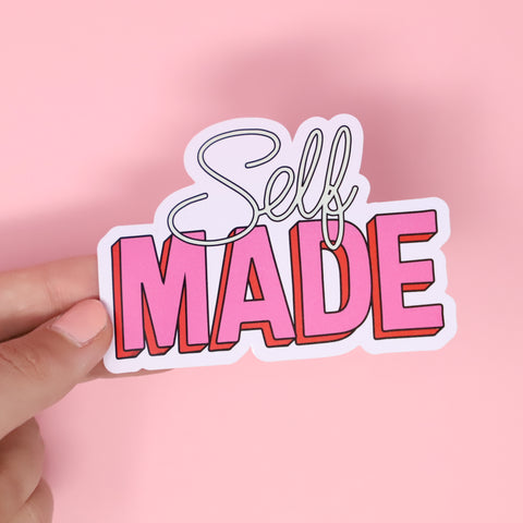 Self Made sticker