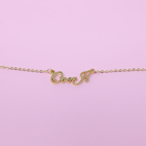 Over It Necklace
