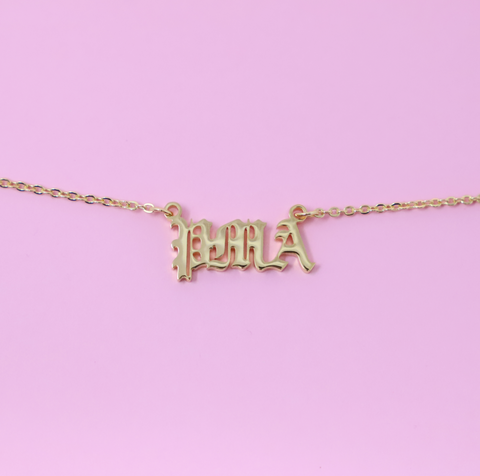 PMA Necklace