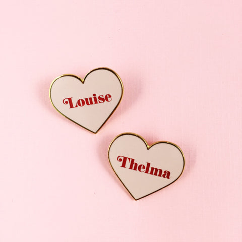 Criminal masterminds BFF pins - Thelma and Louise pin