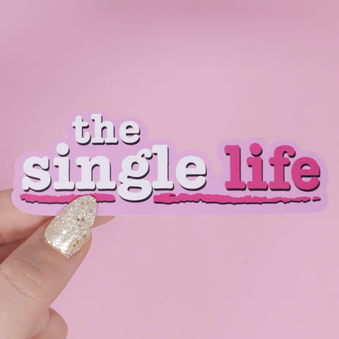 The Single Life Sticker