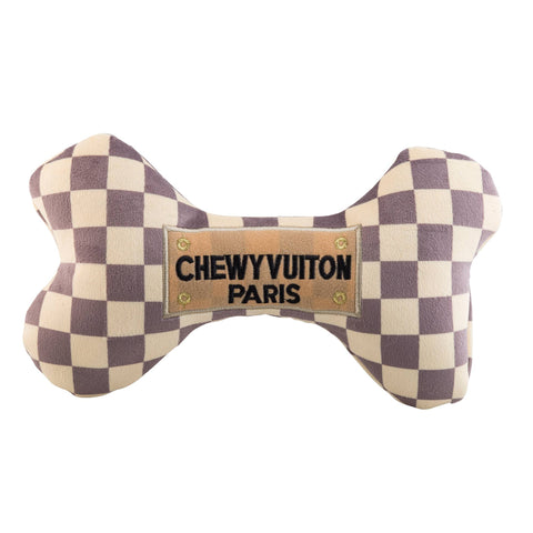 Checker Chewy Vuiton Bones - XL