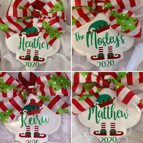 Ornament - Personalized Elf