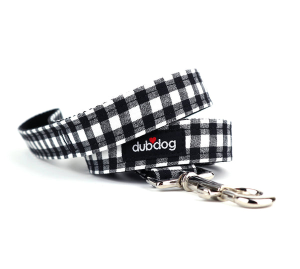 "Classic Check Dog Leash - 3/4"" inch"