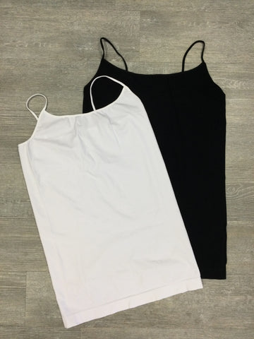 Must Have Fave Plus Signature Camisole - One Size Plus - White