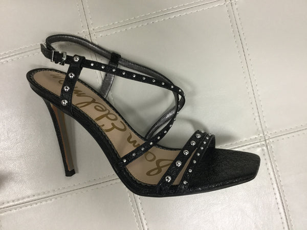 Sam Edelman Lennox Studded Sandals - Black