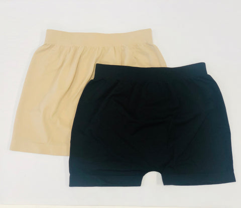 "Must Have Fave 1"" inseam Boyshorts- One Size - Black"