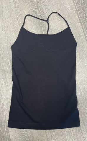 Must Have Fave Skinny Y-back Camisole - One Size - Black