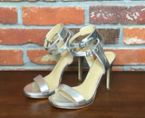 Michael Kors Ashby Stiletto Sandal Metallic Silver