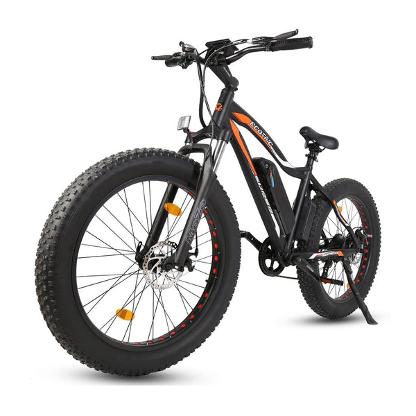 2019 Ecotric Rocket Fat Tire Beach Snow Electric Bike
