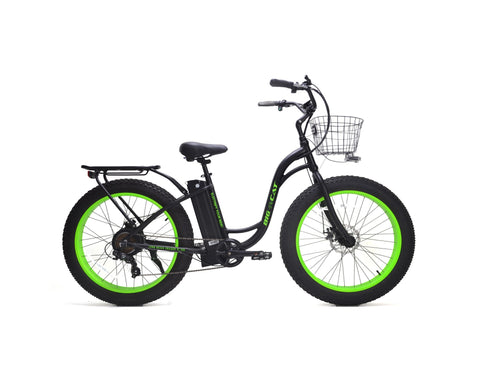 BIG CAT® Long Beach Cruiser XL 500 Electric Fat Bike