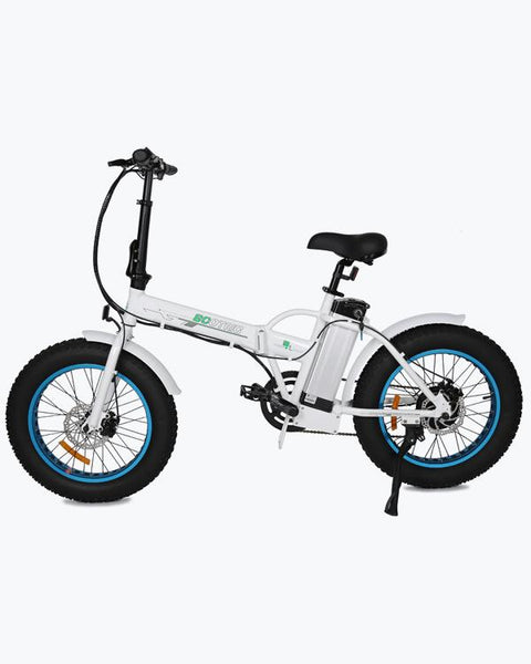 Ecotric 36V 500W Fat Tire Folding Electric Bike