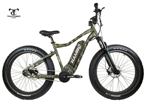 Rambo ROAMER 750W XC Front Suspension Fat Tire Electric Bike
