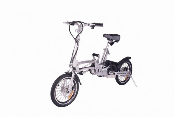 X-Treme City Express SuperLithium Folding Electric Bike