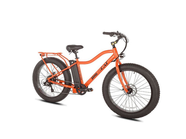Big Cat Fat Cat XL 500W Lithium Powered Electric Bicycle
