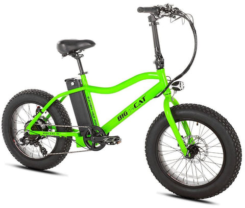 Big Cat Mini Cat XL 350W Fat Tire Lithium Powered Electric Bicycle
