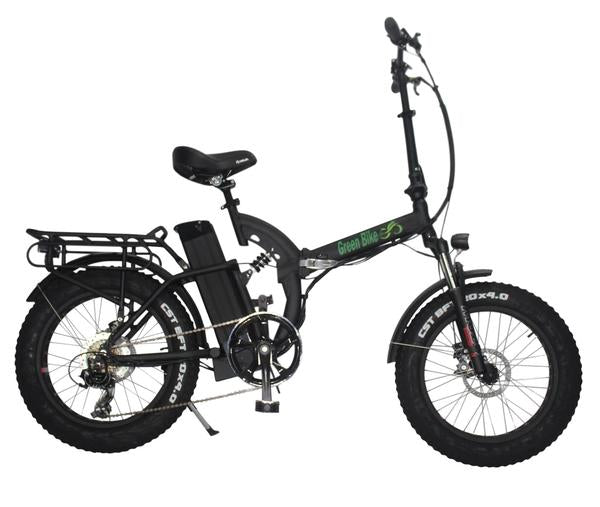 Greenbike USA GB750 48V Fat Tire Folding Electric Bike