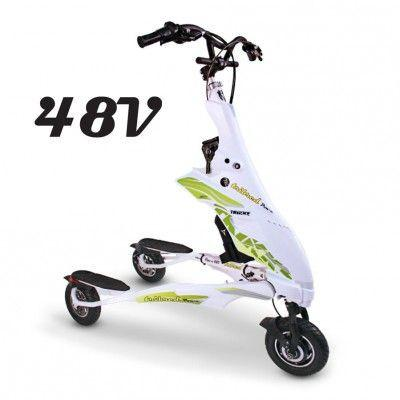 Trikke Pon-e 48v Deluxe Electric Scooter With Battery