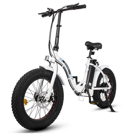 Ecotric Dolphin Step Through Folding Fat Tire Electric Bike