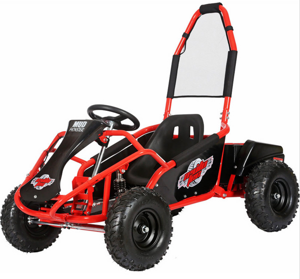 MotoTec Mud Monster Kids Electric 48v 1000w Go Kart Full Suspension [PREORDER ETA FEB-MAR]