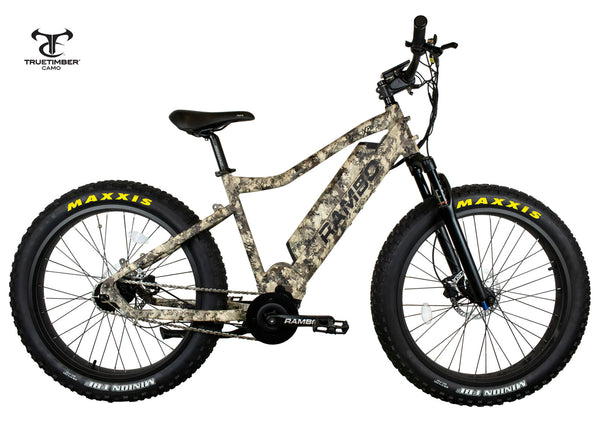 Rambo Bushwacker 750W XPC Fat Tire Electric Bike
