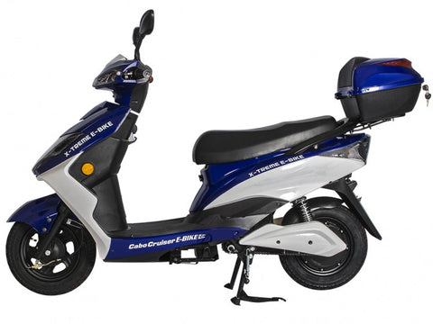 X-Treme Cabo Cruiser Elite Electric Moped (20 Amp Battery System)