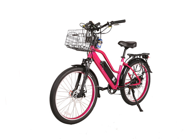 X-Treme Catalina 48V Step-Through Electric Beach Cruiser Bike